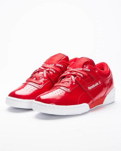 Reebok X Opening ceremony workout lo clean oc scarlet/white