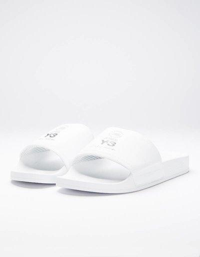 Adidas Y-3 ADILETTE ftwr white / core black / ftwr white