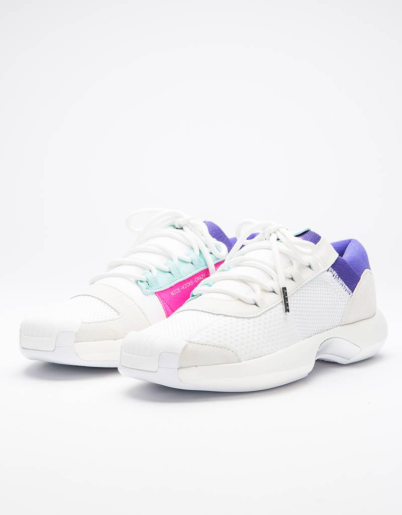 info for 027a3 cd24a Adidas Adidas Consortium Crazy 1 ADV Nicekicks core white  off white   energy aqua - Avenue Store