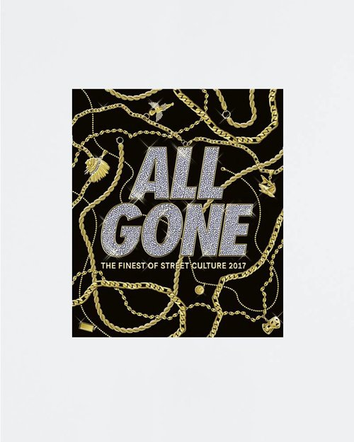 All Gone ALL GONE 2017 book Black