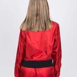 NikeLab Satin Bomber Jacket Gym Red/Black