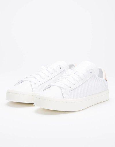 Adidas Womens Court Vantage Ftwr White/Ftwr White/Ash Pearl