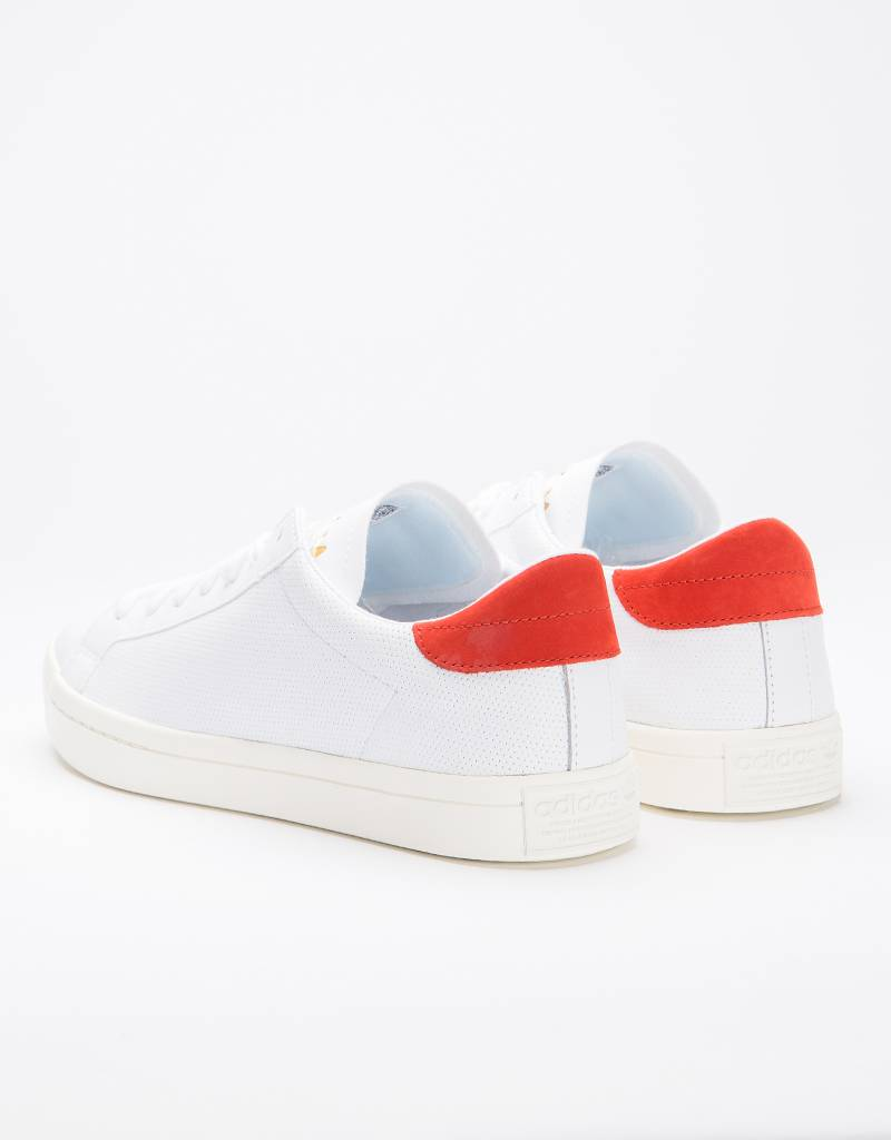 Adidas Court Vantage Ftwr White/Ftwr White/Red