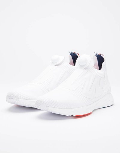 Reebok Pump Supreme White/Carotene/Blue