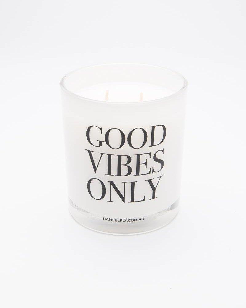 Damselfly Damselfly Candle Extra Large White Good