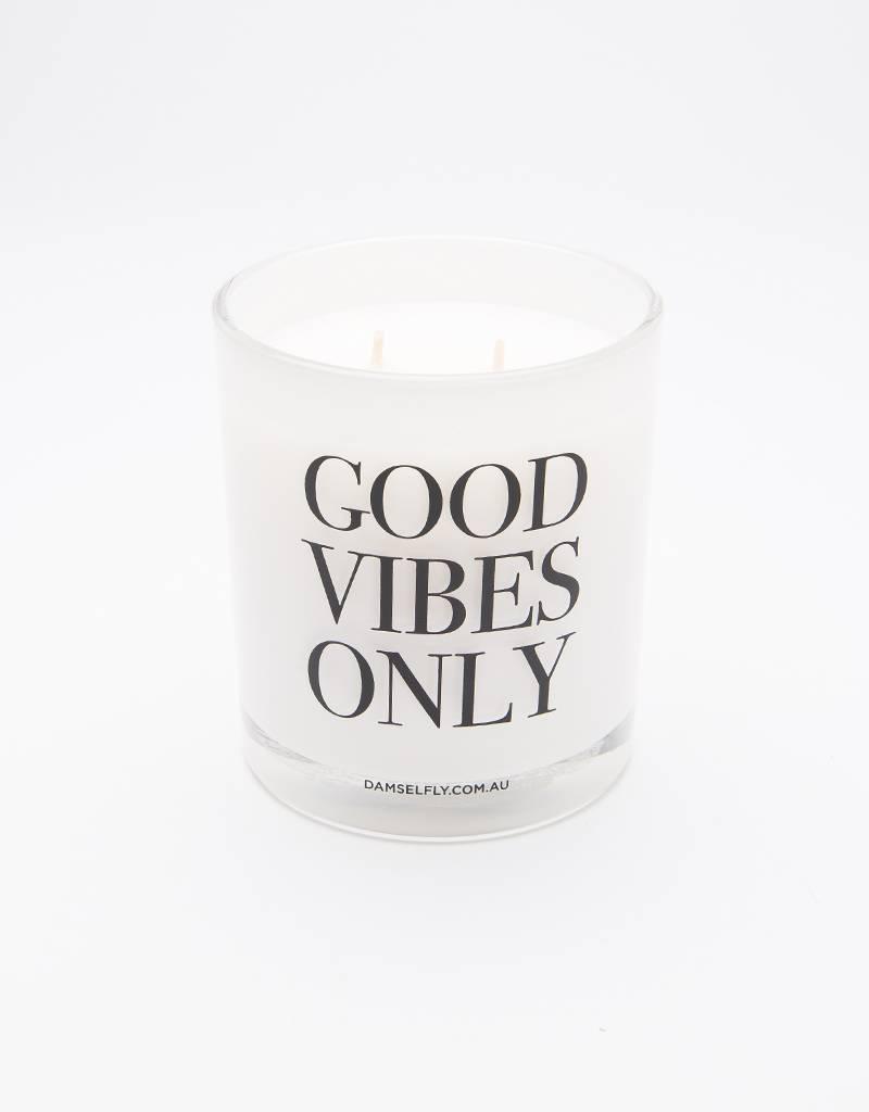 Damselfly Candle Extra Large White Good