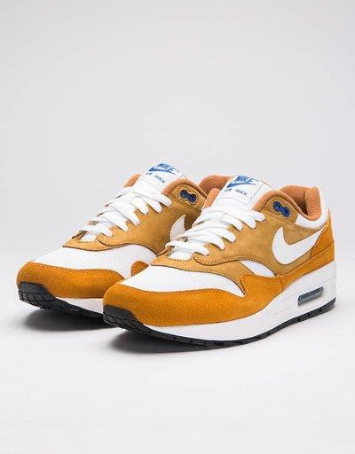 Nike Air Max 1 Premium Retro dark curry/true white-sport blue-black