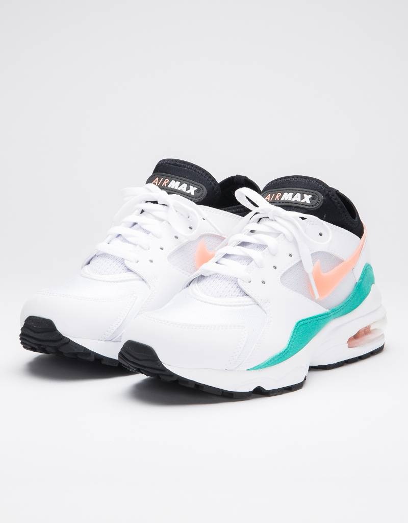 Nike Air Max '93 white/crimson bliss-kinetic green-black