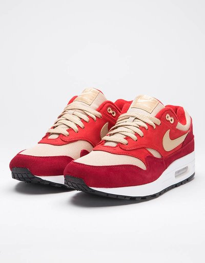 Nike Air Max 1 Premium Retro tough red/mushroom-rush red-pale vanilla