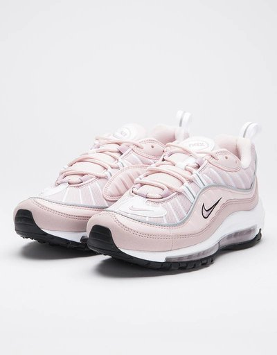 Nike women's air max 98 shoe barely rose/elemental rose-particle rose