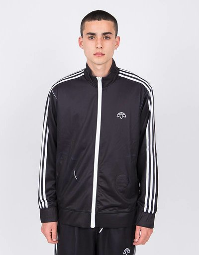 Alexander Wang X Adidas Track Top Black/White/Bold Orange