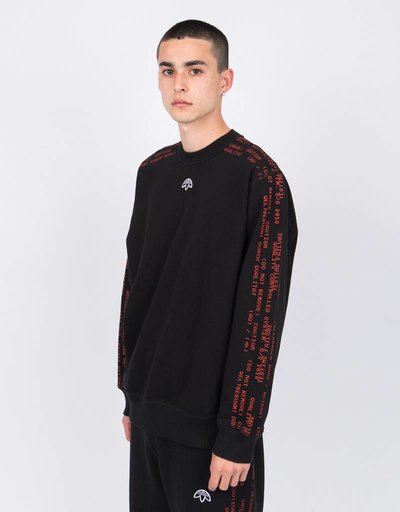 Alexander Wang X Adidas Crewneck Black/Core Red