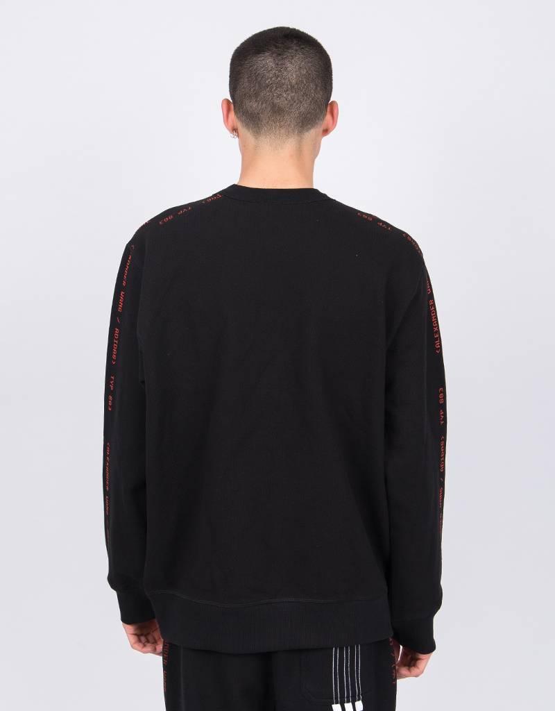 Alexander Wang X Adidas Crewneck Black/Core Red