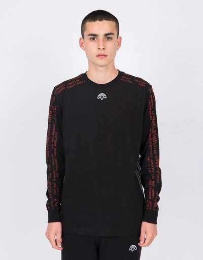 Alexander Wang X Adidas Longsleeve Black/Core Red