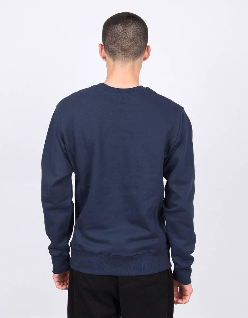 Patta Inji Crewneck Sweater Black Iris
