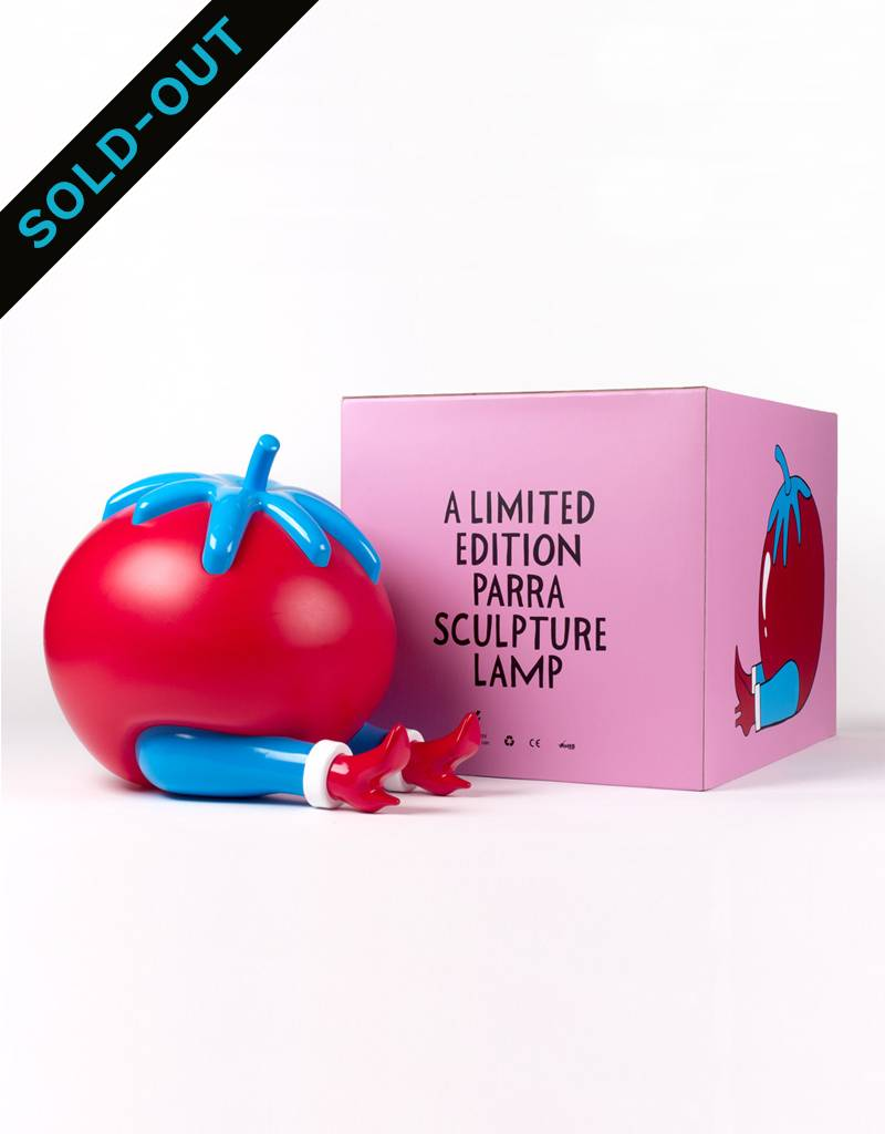 Parra Lamp Give Up Tomato by Case Studyo