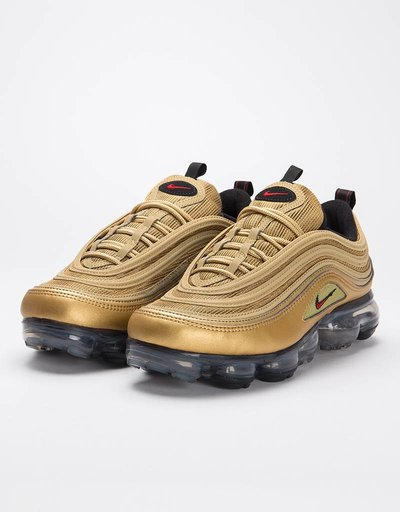 Nike Air VaporMax '97 metallic gold/varsity red-black-white