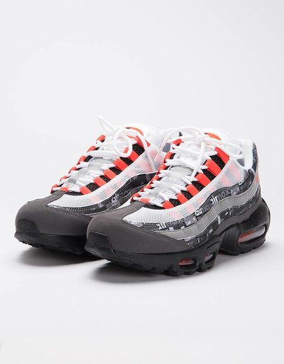 Nike Air Max 95 Print black/bright crimson-medium ash