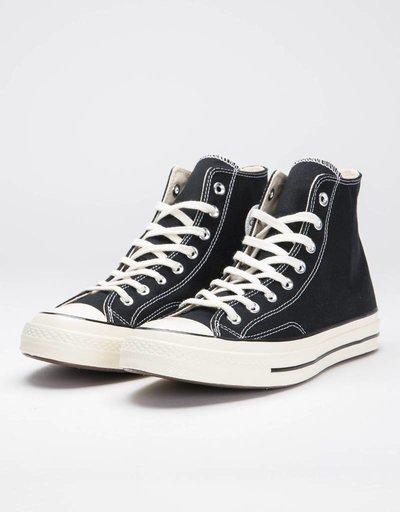 Converse 70 Hi Black/Black/Egret