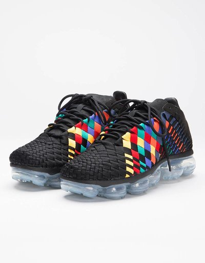 Nike Air Vapormax Inneva Black/Black-Glacier Blue Laser Orange
