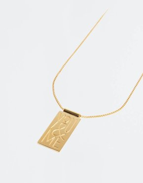Ceizer The Boyscouts x Ceizer Necklace You & Me / Perfect
