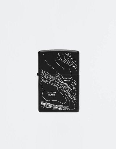 Stampd zippo coastal black