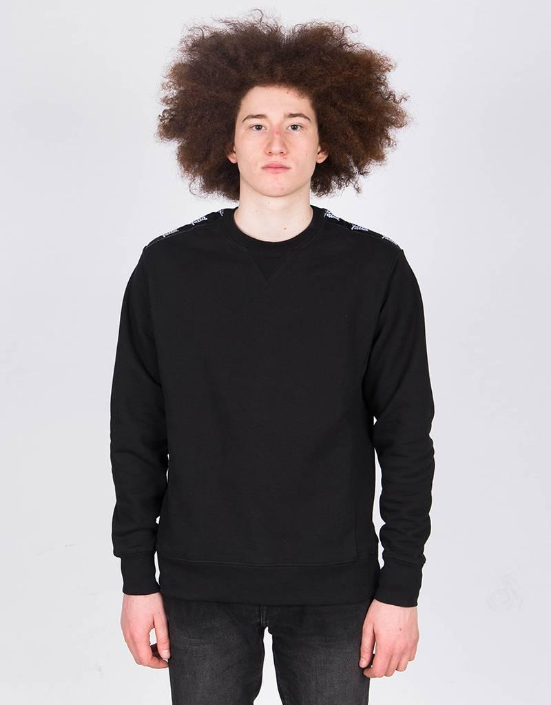 Patta Commander Heavy Crewneck Sweater Black