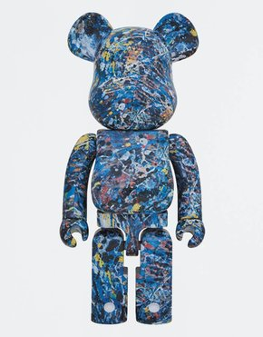 BEARBRICK BE@RBRICK Jackson Pollock studio 1000%