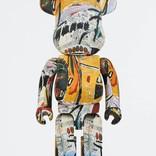 BE@RBRICK Jean-Michel Basquiat 1000%