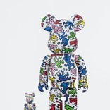 BE@RBRICK Keith Haring 2-pack 100% + 400%