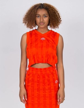 Adidas Alexander Wang X Adidas Crop Jersey Bold Orange/White