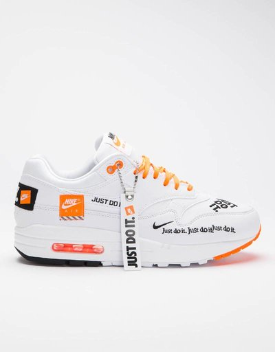 Nike Women's Air Max 1 Lux Shoe white/black-total orange