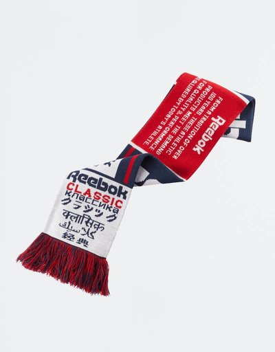 Reebok Classic Football Fan Scarf Red Navy