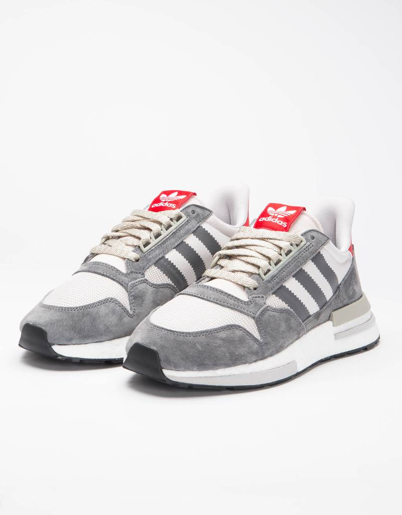 adidas Originals ZX 500 RM Grey White Scarlet - Avenue Store 283f06068d7
