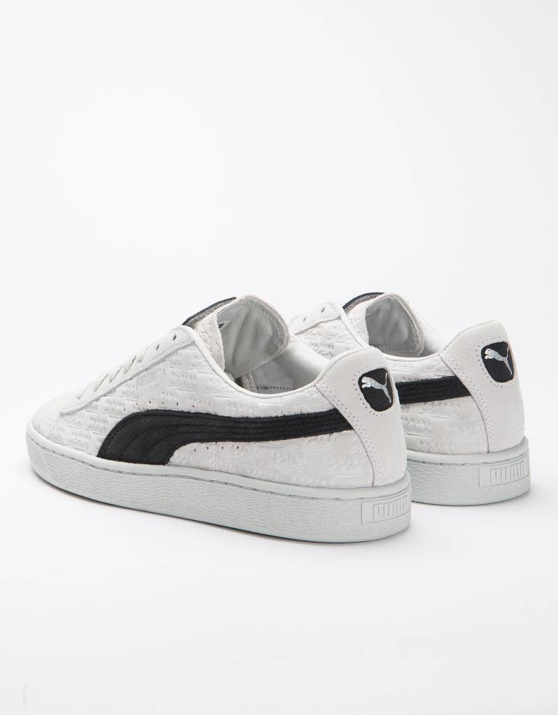 Puma x PANINI Suede Classic White/black