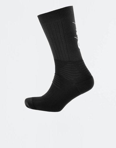 Adidas Y-3 TUBE SOCKS Black/white
