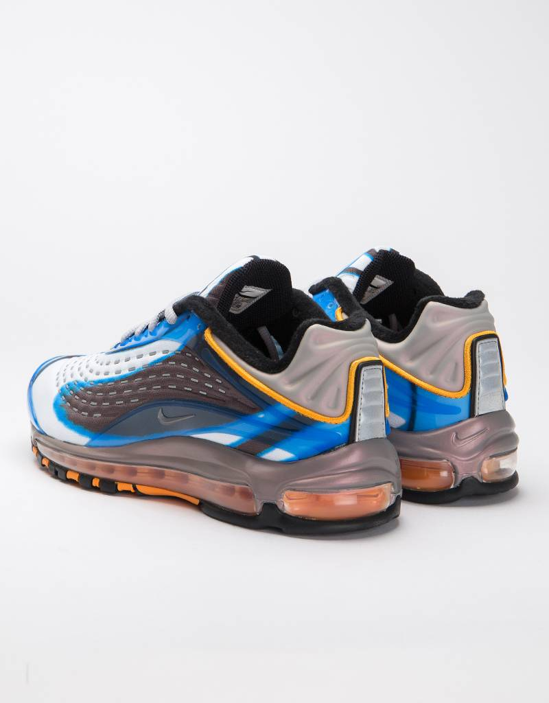 Nike Air Max Deluxe Photo Blue/wolf grey-orange peel-black