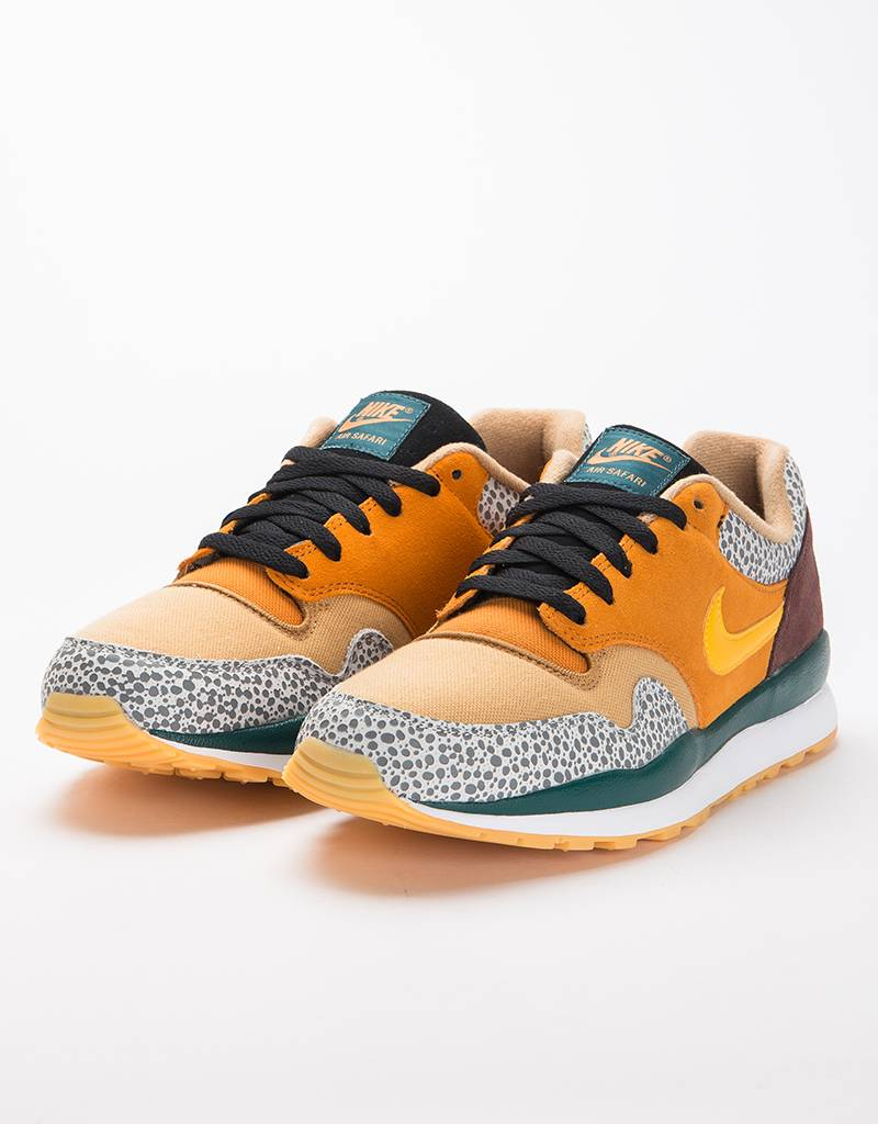 Nike Air Safari SE Monarch/yellow ochre-flax-mahogany mink