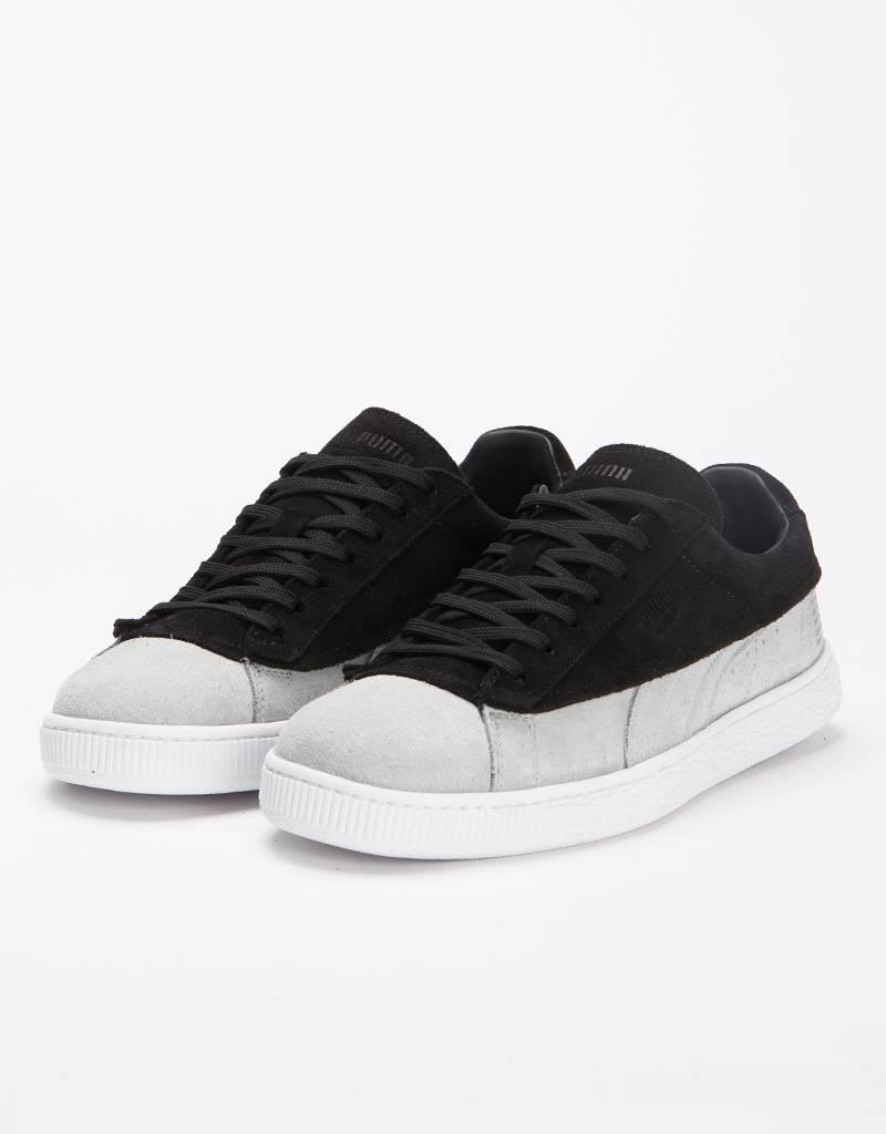 Puma Suede Classic X STAMPD White/Black