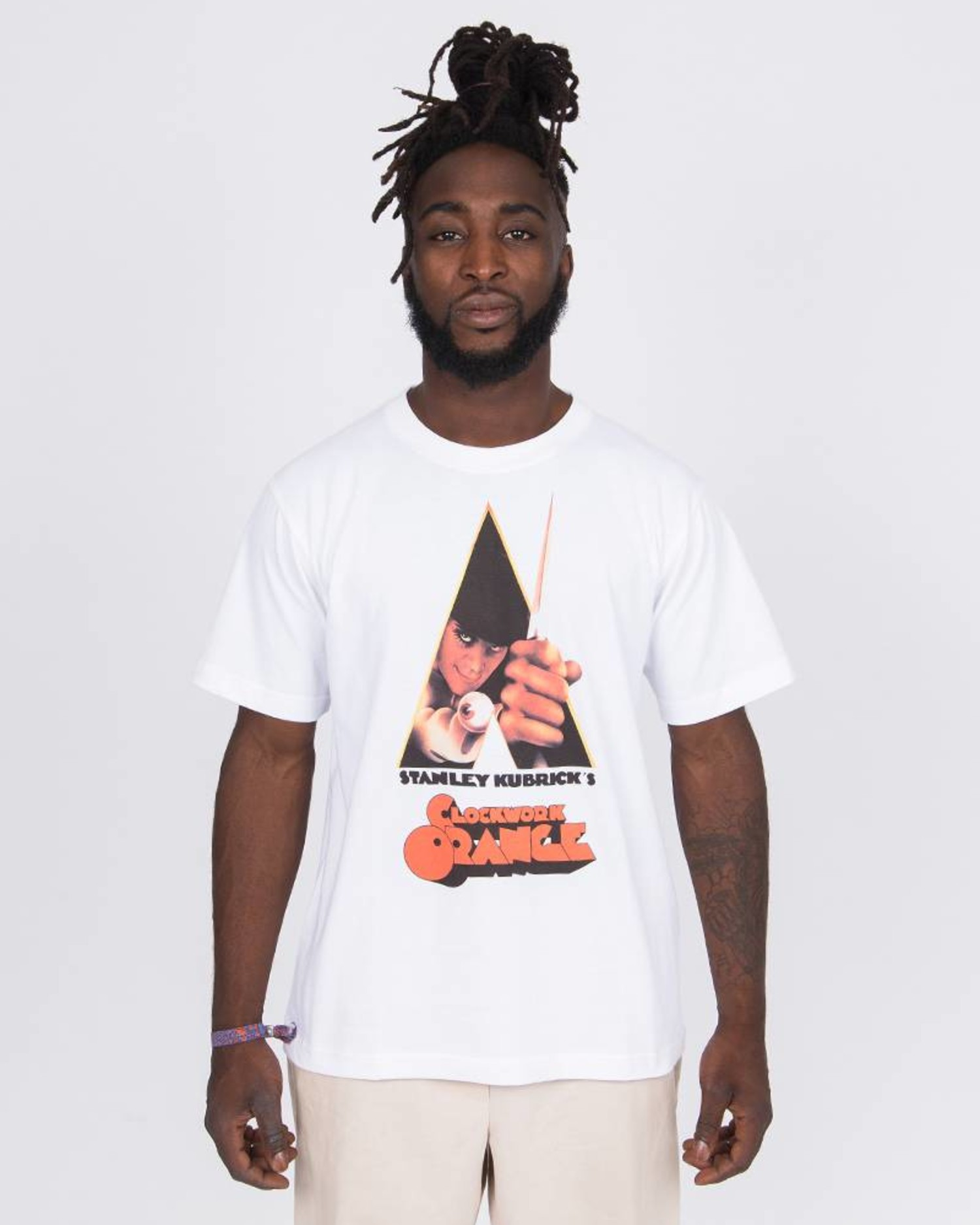 Medicom Tee A Clockwork Orange White