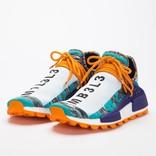 Adidas by Pharrell Williams Afro Hu Nmd Hi Res Aqua/Core Black/Collegiate Purple