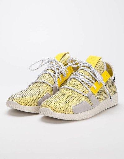 e2d7507567d0d Adidas Afro Tennis Hu V2 Yellow Ftwr White Core Black