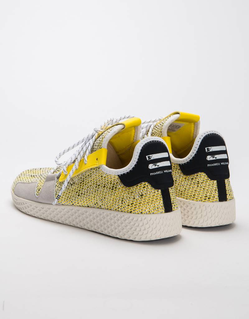 af2859086 Adidas Afro Tennis Hu V2 Yellow Ftwr White Core Black - Avenue Store