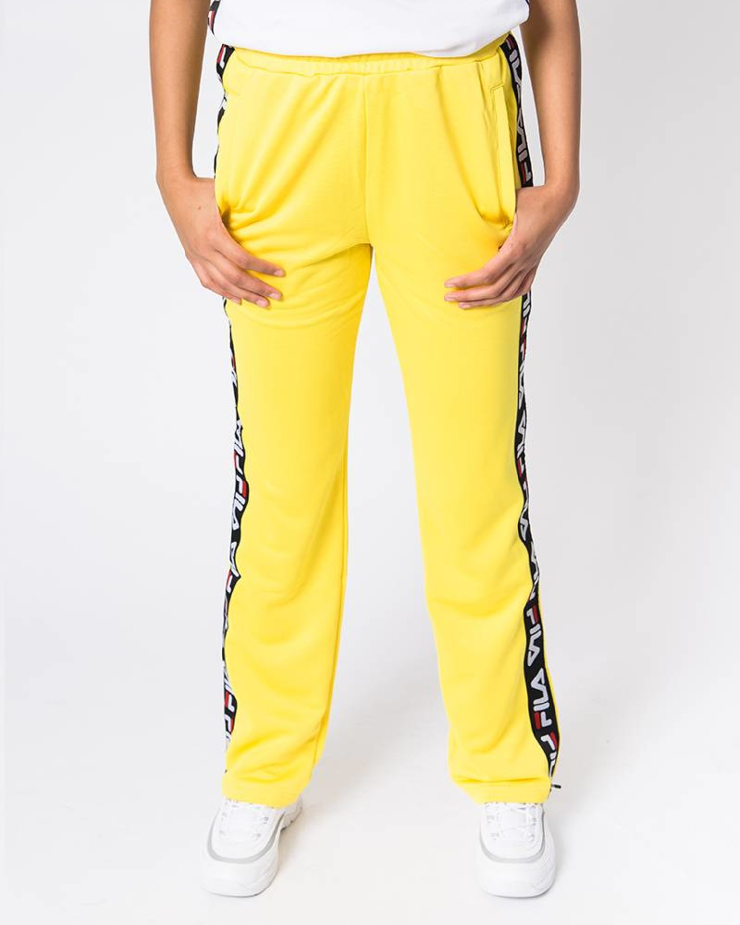 Fila Women Thora Track Pants Vibrant Yellow