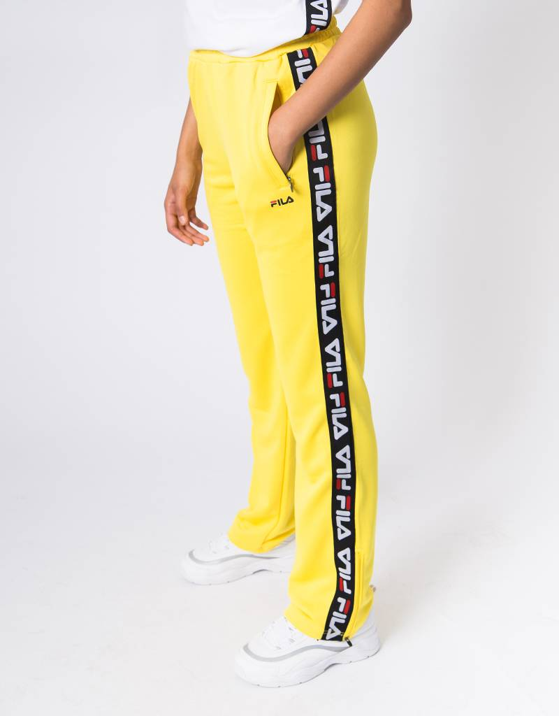 9c6f5179ed21 Fila Women Thora Track Pants Vibrant Yellow - Avenue Store