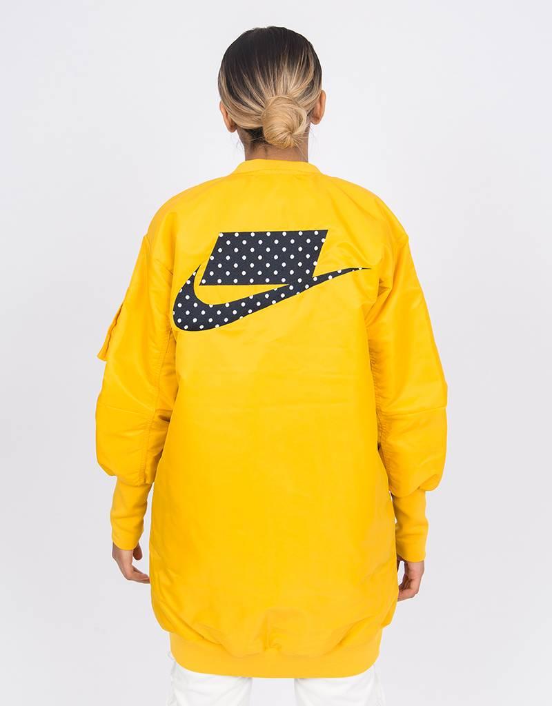 Nike Nsw Parka Insulated ma1 Yellow ochre/dark obsidian/dark obsidian