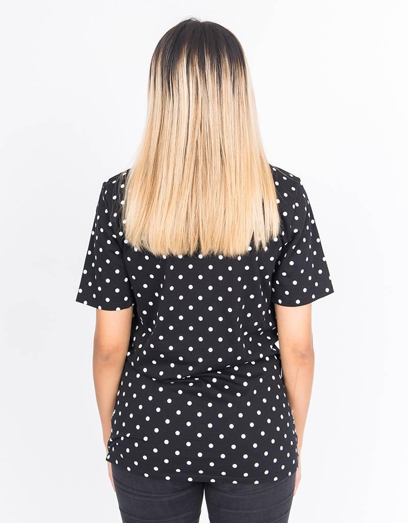 Nike NSW Polka T-Shirt Black/White