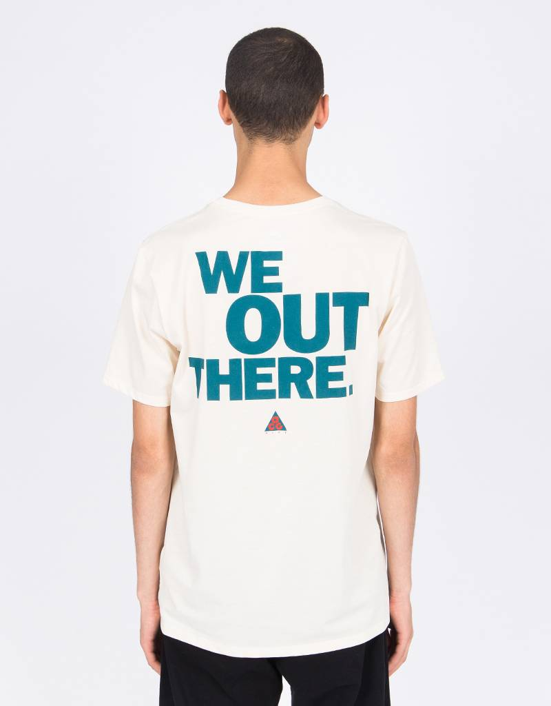 Nike ACG T-Shirt Night Light Cream/Geode Teal