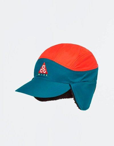 Nike ACG Tailwind Cap Geode Teal/Habanero Red/Black