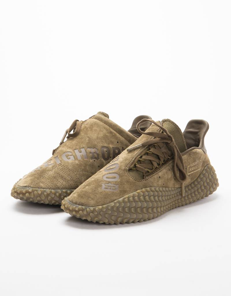 a3af9e58413bb7 Adidas X Neighbourhood Kamanda 01 Trace Olive - Avenue Store